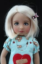 New Wig for Dianna Effner Little Darling doll Alexis Bl Honey Blonde Bob