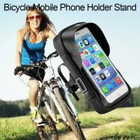 Bicycle Mobile Phone Holder Stand Bike Handlebar Mount Bag Waterproof