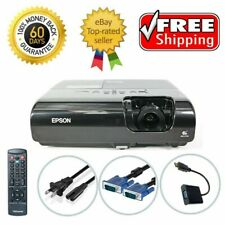 Epson PowerLite 77C 3LCD Projector Refurbished HD 1080i HDMI w/adapter