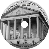 Journal of the Congress of the Confederate States of America 1861-1865
