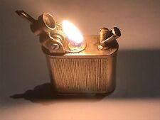 Vintage petrol lighter briquet - Lancel art deco automatic lighter, 1930 France