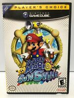 Super Mario Sunshine (Nintendo GameCube) - Clean & Tested Working - Free Ship
