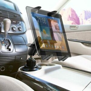 TABRM023 Arkon Heavy Duty Cup Holder Mount for Apple Samsung 8.9 12.9 LG Tablets