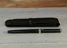 MONTBLANC Noblesse Platinum Plated Ballpoint Pen with Leather Pouch