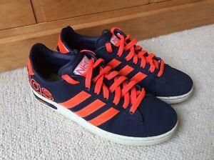 Mens Adidas Neo Trainers ,U.K. size 8 . Original Casual ,Skate Shoes. Rare 2012.
