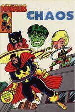 Les Défenseurs N°2 - Chaos - Artima Color - Eds. Arédit - 1981