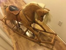 Relko vintage handmade rocking horse made in new zealand