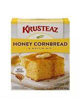 KRUSTEAZ Honey Cornbread & Muffin Mix Made w/Real Honey 15 oz box Lot of 4