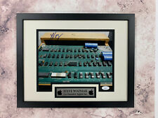 Steve Wozniak Signed 8x10 Photo Jsa Auto Custom Framed Inventor Apple Woz
