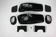 Vivid Black Hard saddlebag 6*9 speaker lids fit 2014 Harley Davidson Touring 15