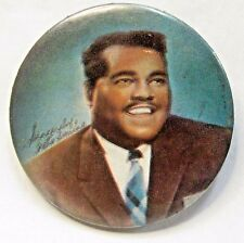 "1950's Fats Domino 2.5"" color photo pinback button"