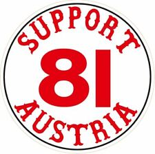 """053a HELLS ANGELS Support 81  Big Red Machine Sticker Aufkleber """"Austria 81"""""""