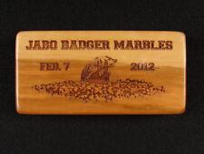 Marbles Jabo Inc. 2-7-2012 Badger run Wood collector set