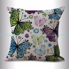 US SELLER, throw pillows covers for sofa butterfly cushion cover