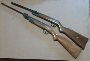 Two Vintage Hy-score/Diana air rifle