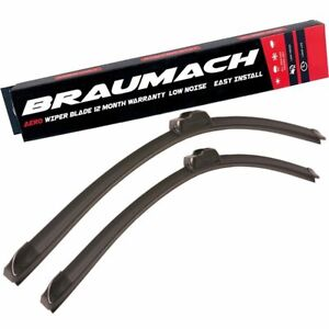 Wiper Blades Aero For SsangYong Stavic VAN 2005-2014 FRONT PAIR