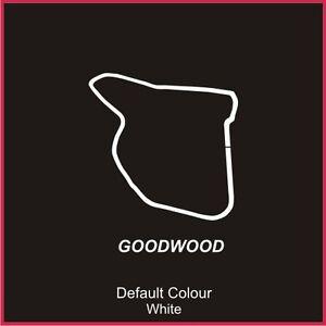 Goodwood Circuit Decal, Track, Vinyl, Sticker, Graphics, Car, Bodywork, N2098