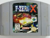 F Zero X Nintendo 64 N64 3D Racing Game 1998 Authentic Cart-Only Tested Working