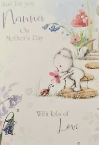 Just For You Nanna on Mother's Day Card