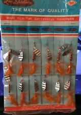 Vintage fishing lure lot 12-Trout Flies Factory Sealed Package