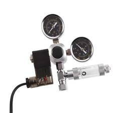 Riduttore Regolatore Pressione Impianto CO2 Manometro Elettrovalvola Acquario