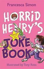 Horrid Henry Joke Book - HORRID HENRY'S JOKE BOOK - NEW