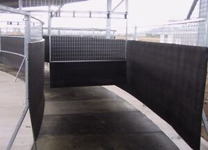 Heavy Duty Horse Walker Rubber *MADE TO MEASURE* (walls and panels only)