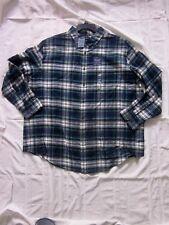 New $44.00 - CROFT & BARROW Big & Tall Men 100% Cotton Plaid Shirt - Size: 2XB
