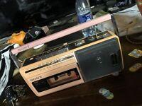 Vintage Sony Fm/Am Radio Cassette-Corder CFM-140