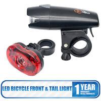 Fanale anteriore posteriore a LED per bicicletta lampade sicurezza Kit MTB bici
