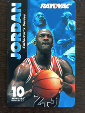 Collectible Michael Jordan Rayovac Collector's Series Phone Calling Prepaid Card