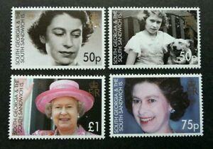 [SJ] Georgia 80th Birthday Of Queen Elizabeth II 2006 Royal Mother (stamp) MNH