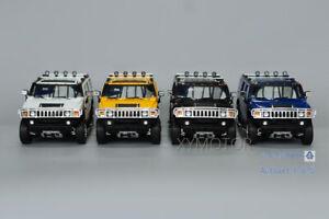 1/18 Greenlight Hummer H2 Highway 61 Diecast Model Car SUV Toys Boys Gift