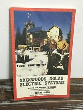 Backwoods Solar Electric Systems 1996-97 Catalog Self Reliant alternative energy