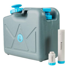 Pressurized Jerry Can Water Filter -Activated Carbon & Hollow Fiber Membrane