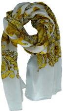 Versace Women Silk scarf Shawl Made Italy Sciarpa Donna Foulard Scd8mub0564 000
