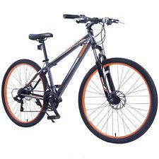 """BN Grey&Orange 27.5"""" Men's Mountain Bike Shimano Hybrid 21 Speed Bicycle Sports"""