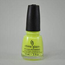 China Glaze Nail Polish Lacquer - YELLOW POLKA DOT BIKINI 0.5 fl oz / 15ml