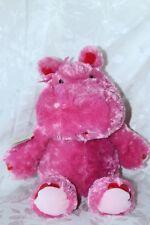 Hallmark plush pink hippo Lola animated ears wiggle talks girl 15in huggable toy