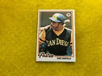 DAVE WINFIELD , SAN DIEGO PADRES , 1978 TOPPS BASEBALL CARD #530 MINT