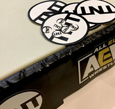 AEW Action Ring TNT Logos Fix Up Wrestler DECALS FOR FIGURE Custom Wrestling