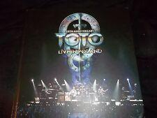 TOTO ~ 35TH ANNIVERSARY LIVE IN POLAND 4 DISC CD/DVD BOX SET