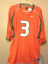 d528ed54c0e Miami Hurricanes NCAA Nike Classic Orange  3 XL Football Jersey
