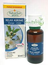 NatureSun Aroms - Complexe diffusion Relax Agrume Bio - 30 ml