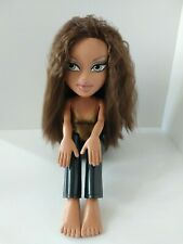 Bratz Funky Fashion Makeover Yasmin Doll, Large Sitting Bratz, 2003 Fashion Doll