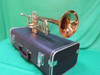Jupiter CEB-660 Capital Edition🎺 STERLING Brass Trumpet Marching Refurbished