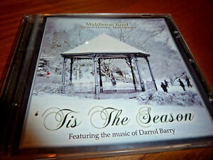 Tis The Season, Middleton Band CD, Freaturing music of Darrol Barry.