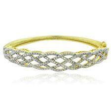 Diamond Bangle Gold Fine Bracelets