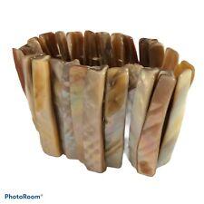 Long Shell Bracelet Stunning Cream Albacore Hawaiian