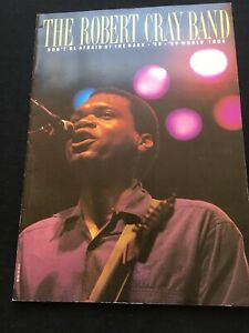 The Robert Cray Band - Don't Be Afraid Of The Dark '88 '89 World Tour Programme